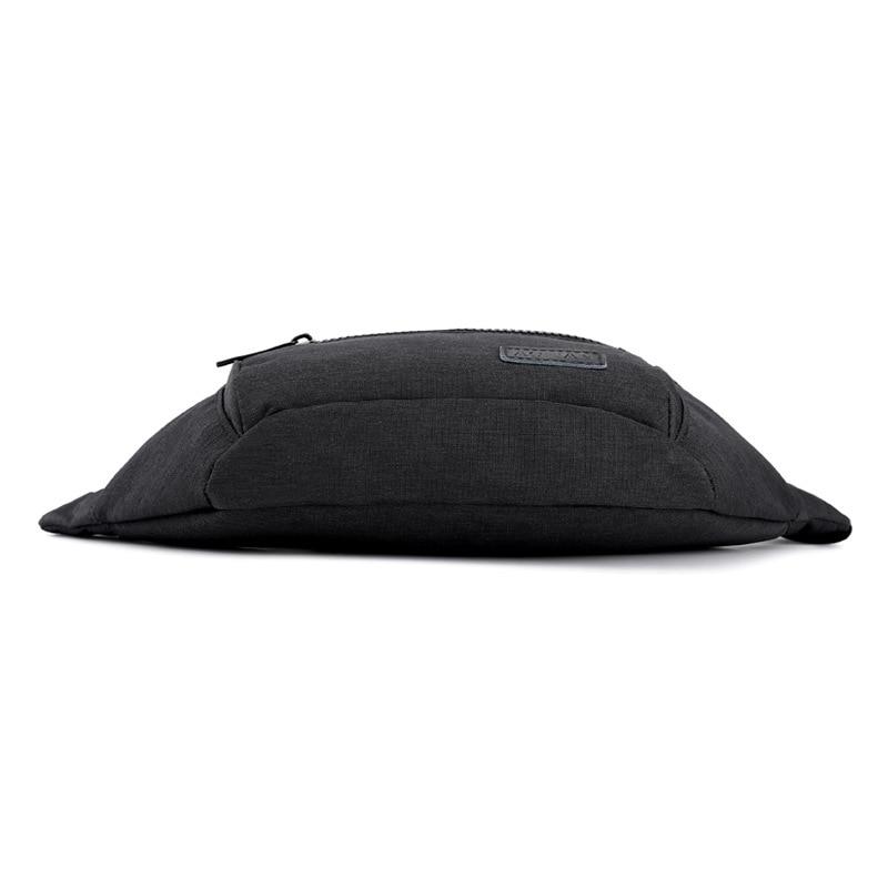 Simple Casual Wallet Men's Waterproof Nylon Bag Versatile Large-Volume Simple Travel Fanny Pack