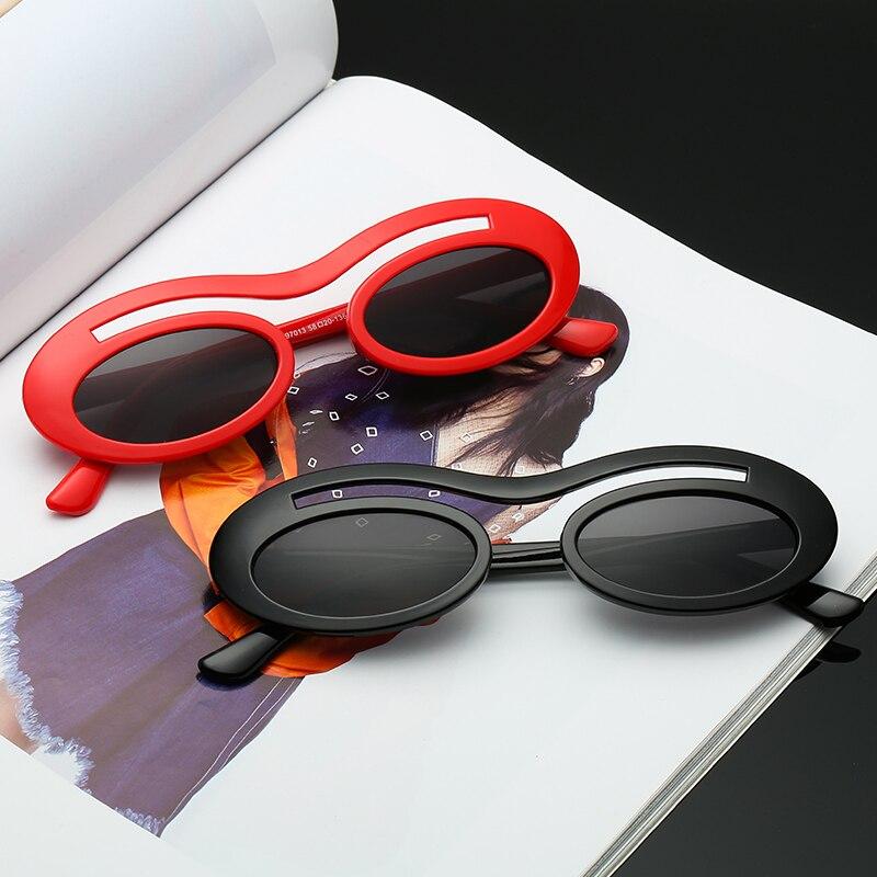 Classic Siamese Glasses Designer Brand Trend Trend Sunglasses Women's Sexy Glasses Adult Eyeglasses
