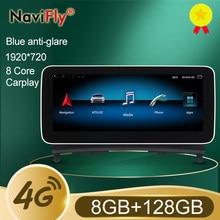 ¡Nuevo! + 8GB + 128GB Android 10 Carplay Radio del coche reproductor de DVD para Mercedes-Benz Clase C W204 C180 C200 C220 C300 C350 2008-2013