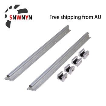 12mm Linear Guide Rail 2pcs SBR16/SBR12/SBR20 750 800 1000mm 4pcs SBR16UU/SBR12UU/SBR20UU Linear Bearing Blocks For CNC Parts yohji men туалетная вода 50мл тестер