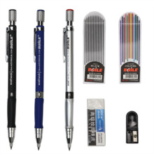 2.0 thick refill mechanical pencil Optional purchase 12 color refills 2B black pencil lead rawing and writing stationery