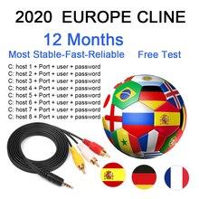 Server Spain Portugal Poland Germany 8Line OScam Espa A For 1 Year Europe ESPA A For Satellite Receive cccam FREE TEST games campeonato de espa ol