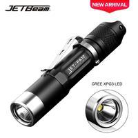 JETBeam PA12 مصباح يدوي تكتيكي صغير كري XPG3 LED 780 التجويف جيب صغير الشرطة الشعلة المهنية في الهواء الطلق مساعد مصباح يدوي-في مصابيح يدوية LED من مصابيح وإضاءات على