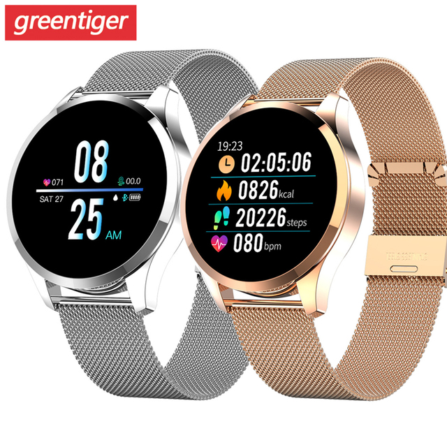 Q9 montre intelligente hommes étanche Message rappel dappel Smartwatch femmes moniteur de fréquence cardiaque mode bracelet Fitness Tracke.