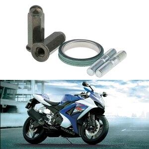 Image 1 - Schrauben M6X32MM Roller Auspuff Muttern + Stubs + Dichtung Auspuff Rohr Schalldämpfer Schalldämpfer Gy6 50cc Moped Roller 139qmb 150cc 125cc