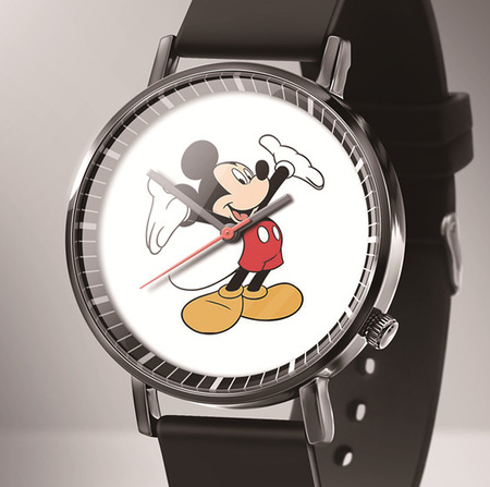 Reloj Mujer New Luxury Mickey Quartz Women Watches Relogio Fashion Black Leather Cartoon Kids Watches часы детские