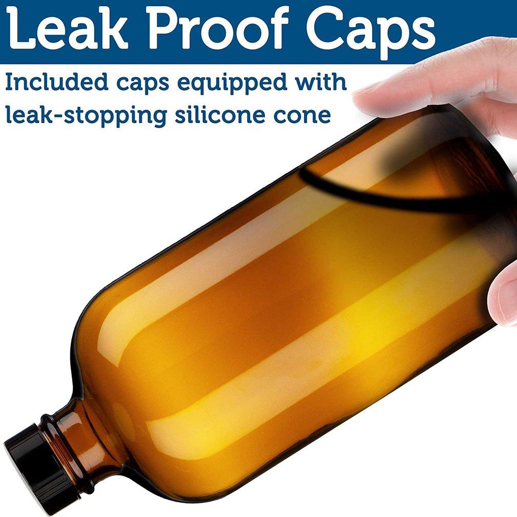 500 мл многоразового использования пресс насос стекло спрей бутылка масла жидкость контейнер духи распылитель путешествия