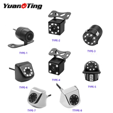YuanTing Front/Side/Rear View Reverse Back Up Camera with 8 Auto LED Night Vision Waterproof