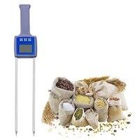 Tk100G Grain Moisture Meter Wheat Maize Soya Beans Paddy Rice Barley Moisture Tester Hygrometer