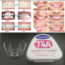 1 pcs Dental T4A Tooth Orthodontic Appliance Trainer for Alignment Braces Teeth Trainer for Adults Tooth Whitening Dentist Tools malocclusion orthodontic trainer t4a mrc orthodontic brace t4a t4a teeth trainer retention alignment