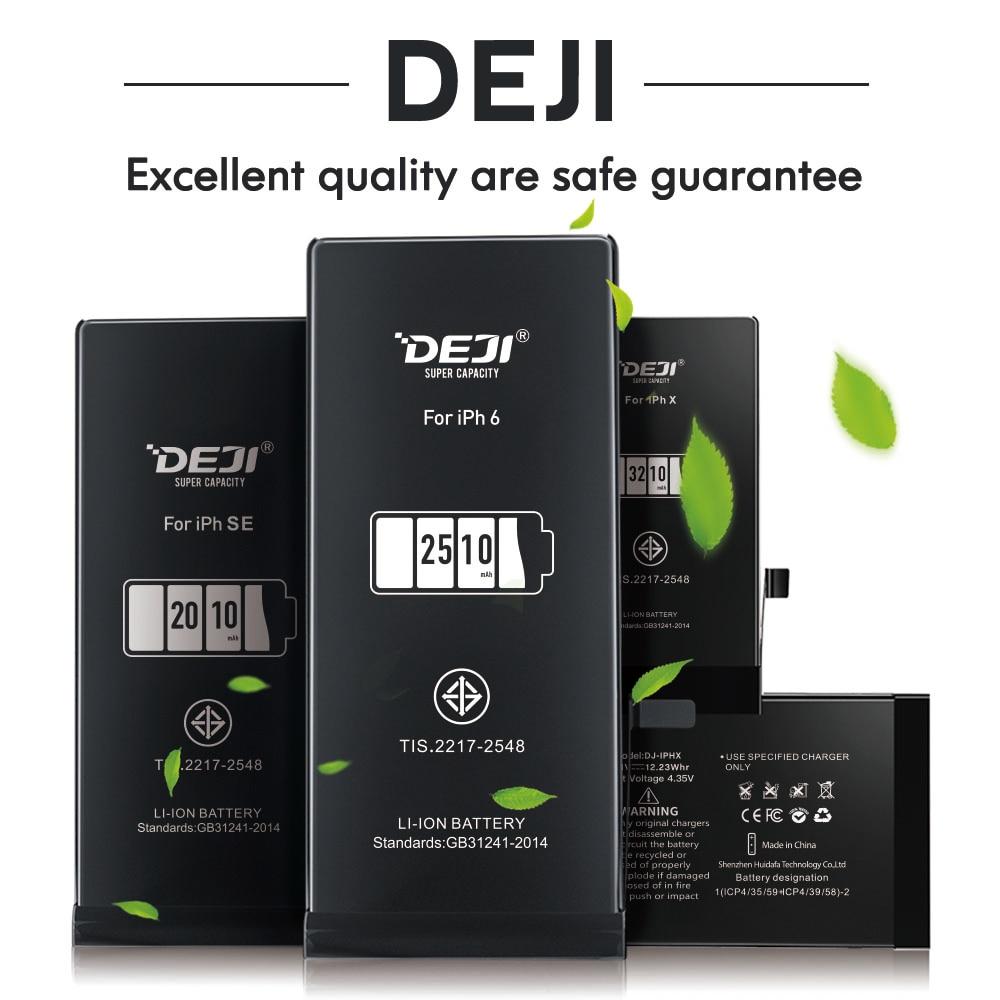 Replacement Bateria DEJI Battery-X-6s iPhone High-Capacity Lithium Original for 5se 7/6-8/Xs/..