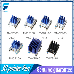 5 sztuk TMC2100 V1.3 TMC2130 TMC2208 TMC2209 v3.0 TMC5160 TMC5161 silnik krokowy sterownik stepstick cichy 3D części drukarki w Części i akcesoria do drukarek 3D od Komputer i biuro na