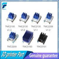 5PCS TMC2100 V1.3 TMC2130 TMC2208 TMC2209 v3.0 TMC5160 TMC5161 Stepper Motor StepStick Stumm Fahrer Stille 3D Drucker teile