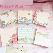Cute cartoon sumikko gurashi Memo Pad, Message Post, Memo Pad, N Times, 80 Pages