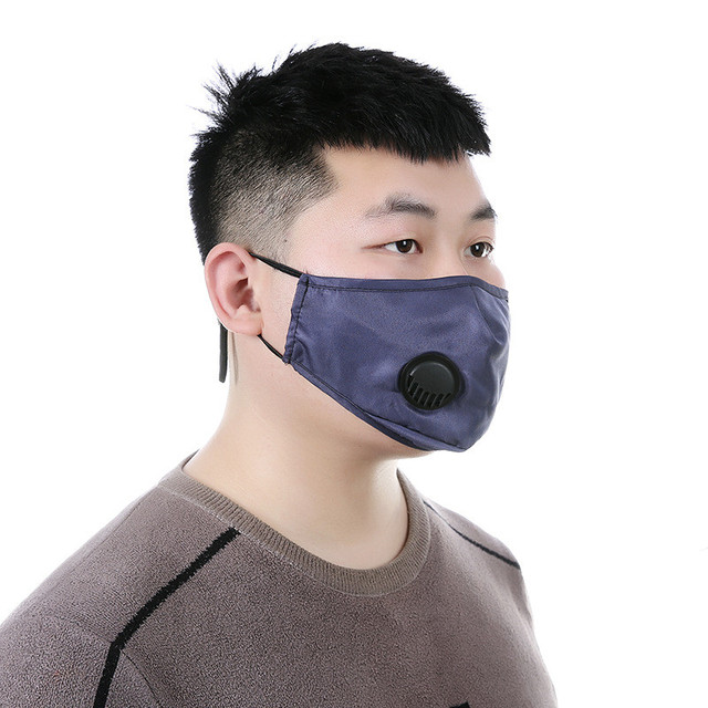 3Pcs Bacteria-proof PM2.5 Mouth Mask Dust Proof Washable Reusable Masks Cotton Unisex Mouth Muffle Anti-pollution 4