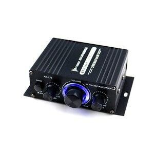 Image 5 - AK170 12V Mini amplificateur de puissance Audio numérique récepteur Audio amplificateur double canal 20W + 20W basse contrôle du Volume des aigus pour un usage domestique de voiture
