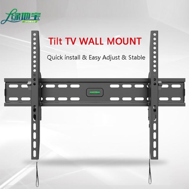 LVDIBAO, soporte de montaje en pared Universal para TV, Panel plano fijo, marco de TV para pantalla LCD LED de 32 a 65 pulgadas, soporte para Monitor
