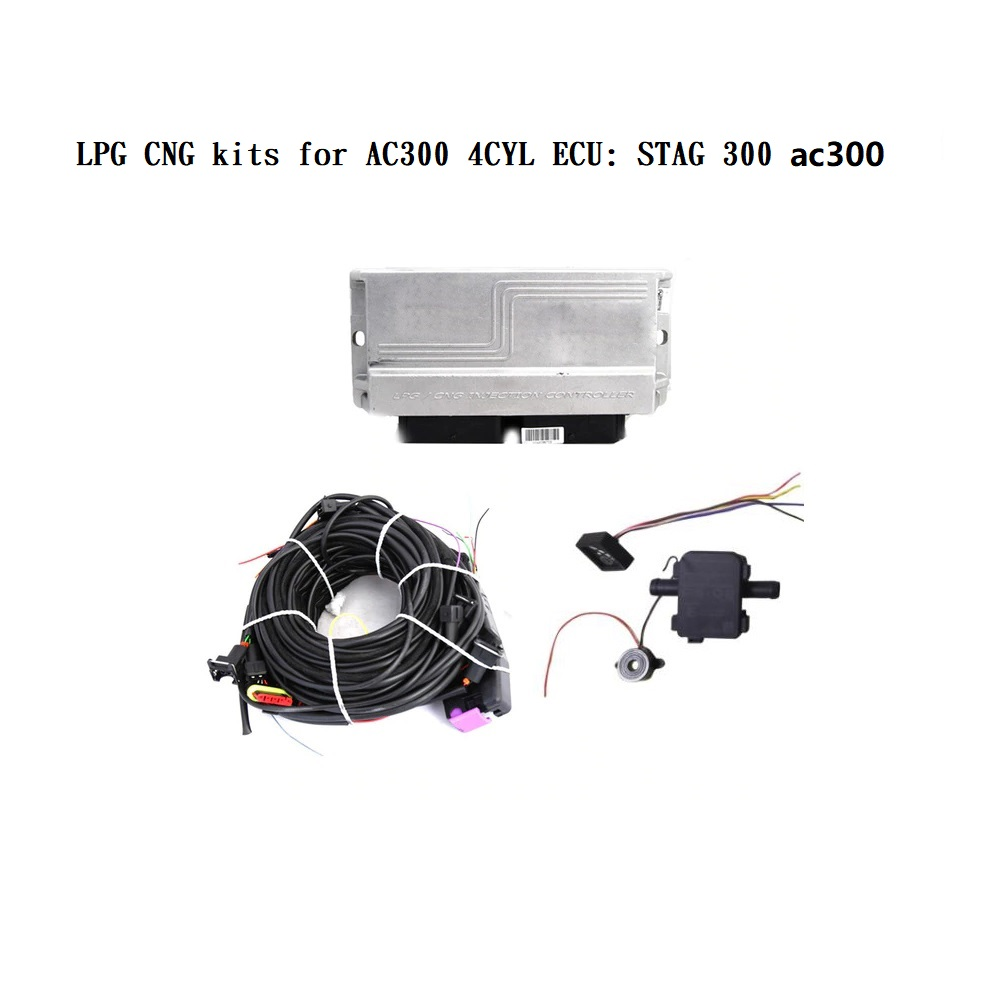LPG CNG Kits For AC300 4CYL ECU: STAG 300 ISA2