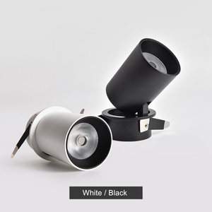 Image 2 - [DBF] Складной СВЕТОДИОДНЫЙ Потолочный встраиваемый светильник, 7 Вт, 12 Вт, светодиодные точечные светильники для гостиной, фоновой стены, коридора, потолочный светильник COB