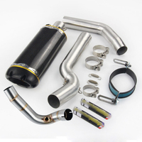 Slip for Honda CBR600RR 2007 2019 Motorcycle Under Seat System Exhaust Muffler Tube Front Link Pipe No Catalyst Cat Sets