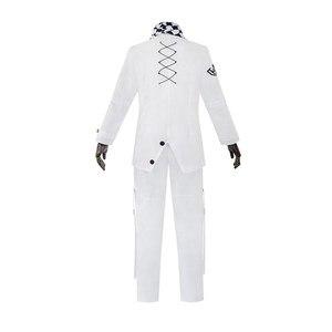 Danganronpa Kokichi Oma костюмы для косплея японского аниме Мужской плащ топ брюки униформа Одежда