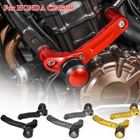 CNC Aluminum Engine Guard Frame Body Slider Stator Cylinder Cover Crash Pad Falling Protection for Honda CB650R 2019 2020