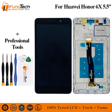 Brand New LCD Display For Huawei Honor 6X BLN-L24 BLN-AL10 BLN-L21 BLN-L22 Mate 9 Lite GR5 2017 touch Digitizer Assembly Frame цены онлайн