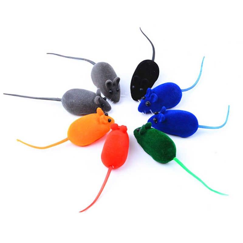1PCS צבעים Creative מצחיק שווא עכבר לחיות מחמד חתול צעצועי מיני מצחיק משחק צעצועים לחתולים חתלתול אינטראקטיבי Dropshipping