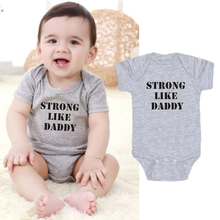 Letter Printing New Born Baby Clothes One-Pieces ba