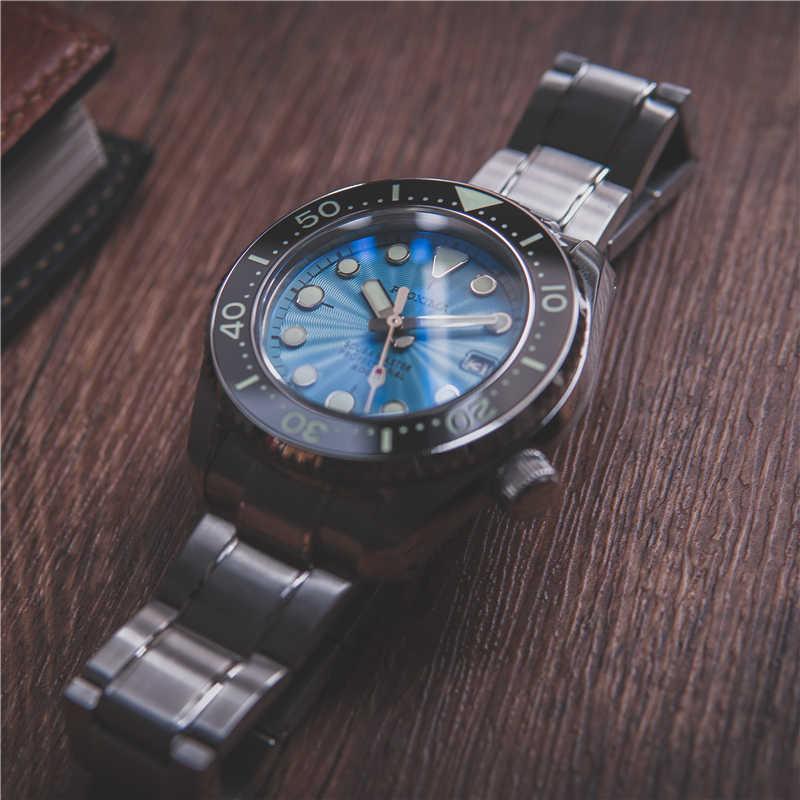 Proxima SDBX001 NH35 セラミックベゼル自動腕時計男性用機械式ステンレス鋼 300 メートルダイバー腕時計メンズハンド時計