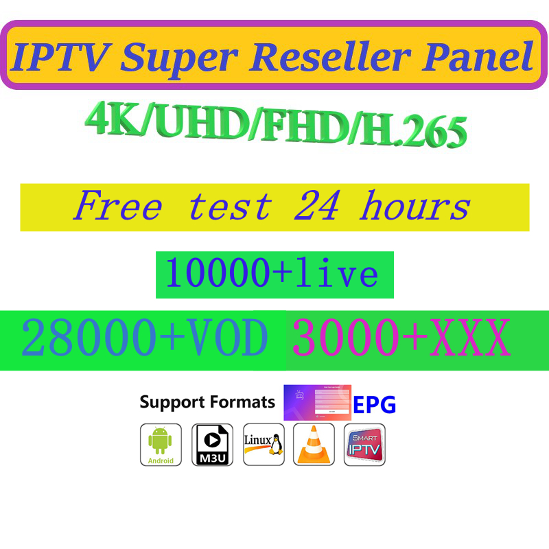 France Russian Poland German Arabic Dutch Android M3U Intelligent IPTV Live VOD Sports 10000+ Live 20000+ VOD Adult XXX