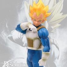 19cm Dragon Ball Z Super Saiyan Awakening Soldier Vegeta Gohan PVC Anime Action Figure DBZ Collection Model Doll Toys For Kids