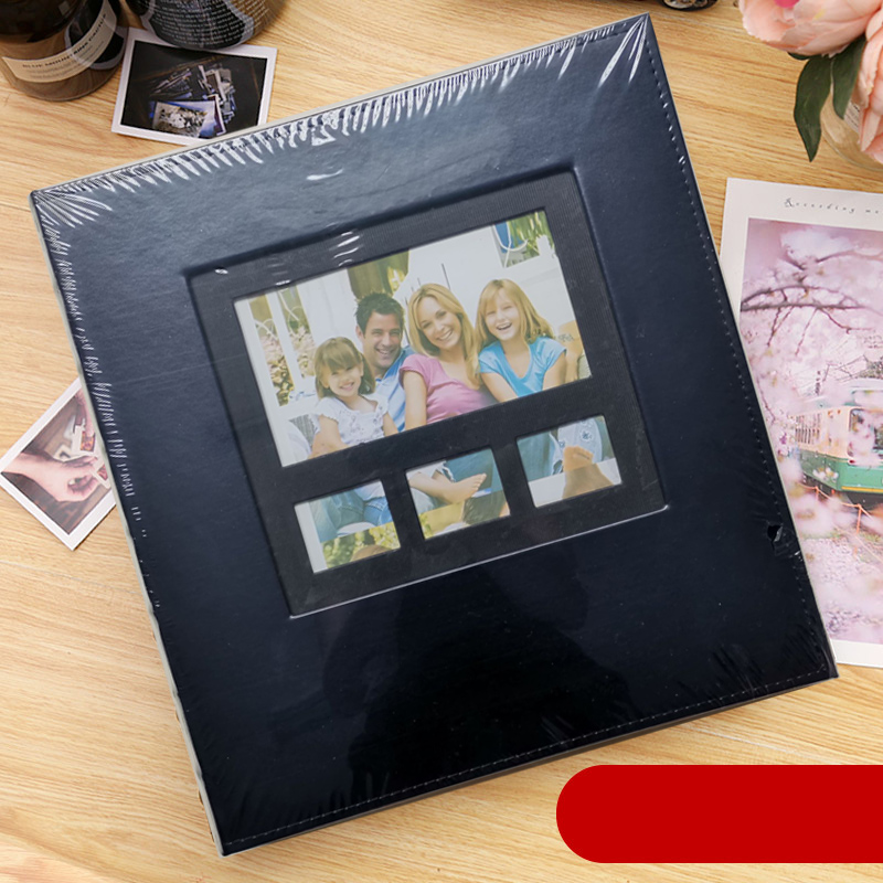6 Inch Foto 600 Pocket Photo Album PU Leather Cover Large Capacity  Family Children Baby Growth Wedding Memory Insert Albums