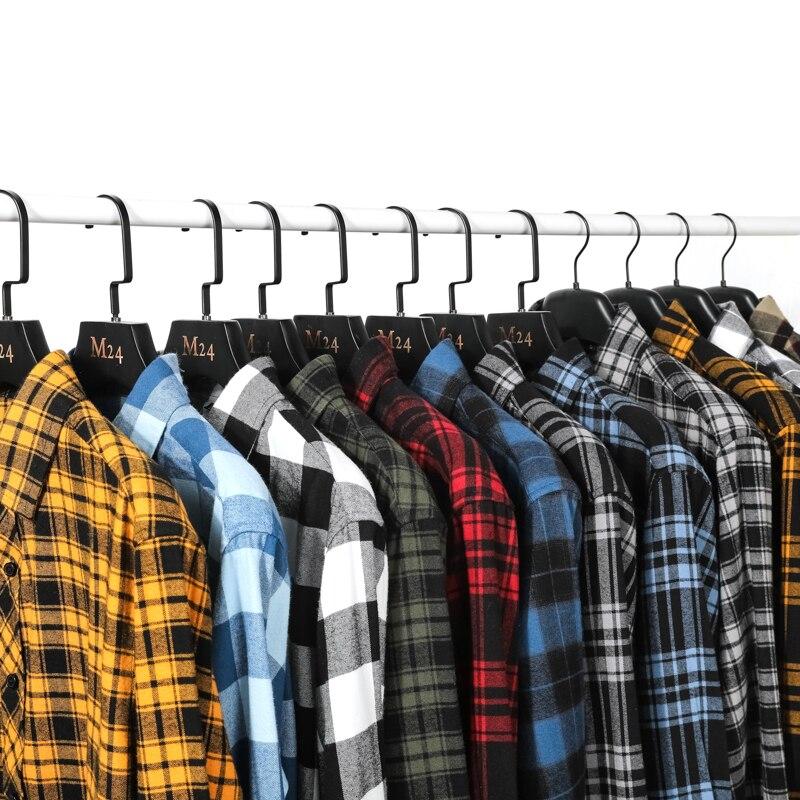 12 Color Mens Shirts Fashion Men Plaid Shirt Autumn Comfortable M-4XL Men Long Sleeve Shirt