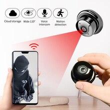 Mała P2P pełna HD1080P Mini bezprzewodowa kamera sieciowa wi fi noktowizor Mini kamera dla domu bezpieczeństwo biura CCTV mikro kamera v380