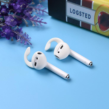 2Pcs Silicone Cover Earbuds Earphone Case For IPod IPhone 6 / 6 Plus Earpods Headphone Eartip Ear Wi