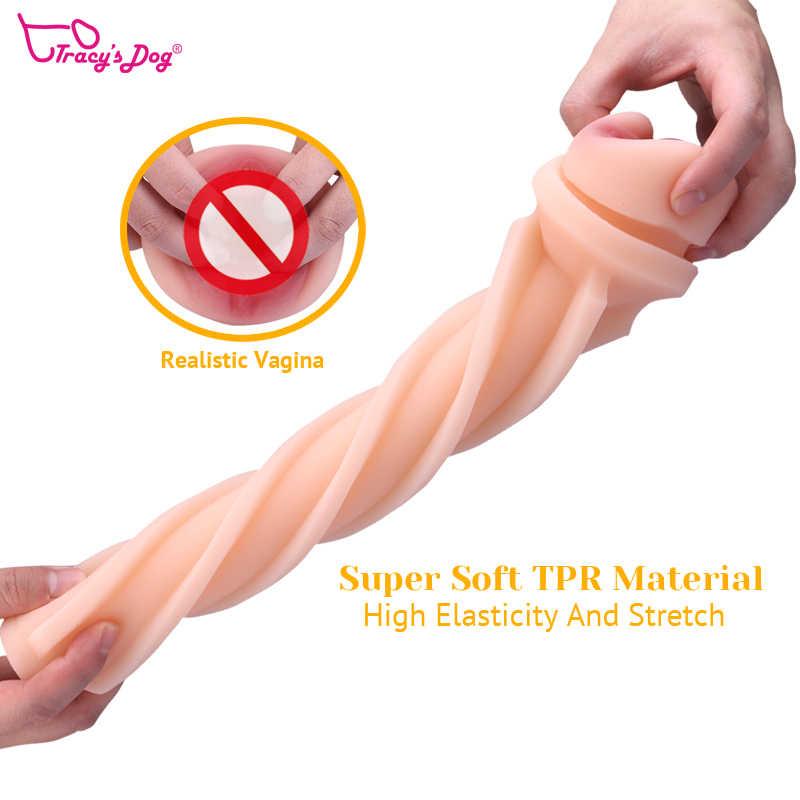 Man Masturbators Cup Adult Sex Toys-Man Masturbators Stroker 3D Realistische Vagina Masturbatie Pussy Cup