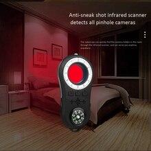 Горячая-анти шпионская камера наблюдения детектор беспроводной сигнал Анти-скрытый камера искатель сигнала Объектив RF трекер обнаружения беспроводной Produ