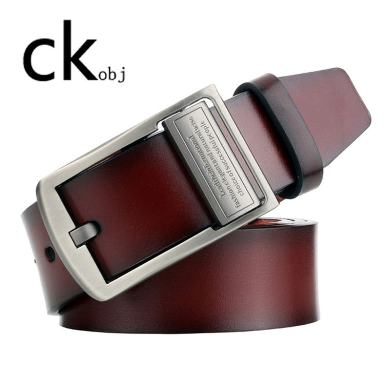 2019 NEW Men's Pin Buckle Belt Vintage Men's Belt Casual Leather Belt