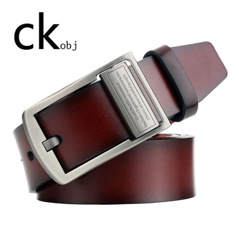 2019 NEW Men's Pin Buckle Belt Vintage Men's Belt Casual Leather Belt