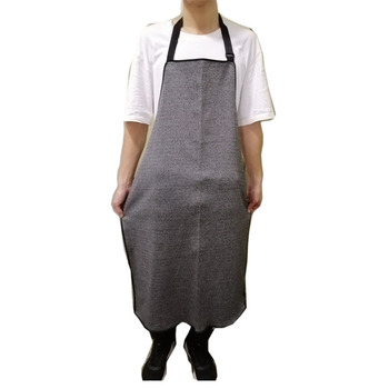 Cut-proof Apron Acid and Alkali Resistant Cutting Industrial Operation Slaughter Kitchen Woodworking Garden Apron Blacksmith