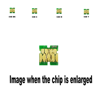 4pack 1B+1C+1M+1Y T04E1 T04E2 T04E3 T04E4 For Epson Compatible ink cartridge disposable chip XP-2101 4101 WF-2831 2851