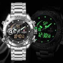 9054 Mannen Horloges Mode Sport Super Cool Quartz Led Digitale Horloge 30M Waterdicht Horloge Mannen Klok Relogio Masculino