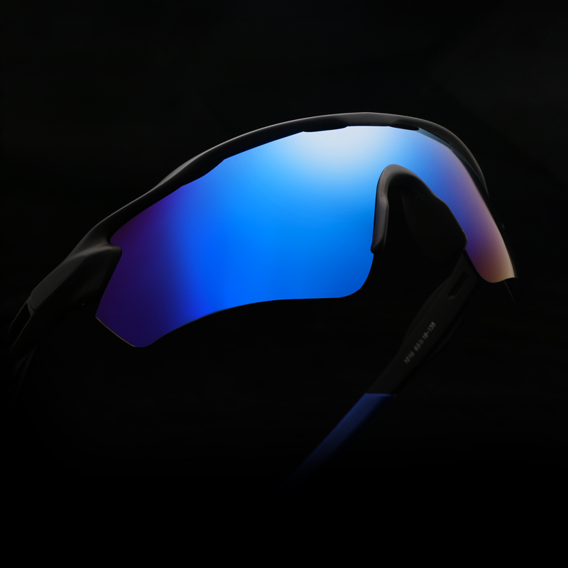 Купить с кэшбэком Men Polarized Mirror Goggles Oversized Sunglasses Cycling Driving Sun Glasses Man Brand Designer Retro Driver Sunglass