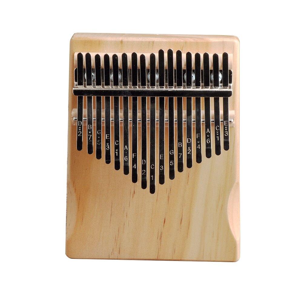 design kalimba com afinação martelo adesivo corpo mogno instrumento musical