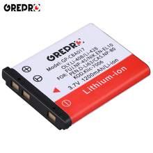 Batterie 1200mAh pour Olympus Li 40B, 42B, NIK.EN EL10, PE n.d-li63, KOD.