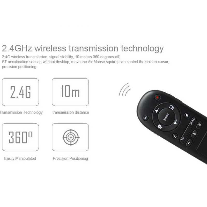 Viboton 504T Ir Rf 2,4 Ghz Беспроводная Usb воздушная мышь Поддержка Презентер указка пульт дистанционного управления для power Point Ppt Presspad Fly mouse