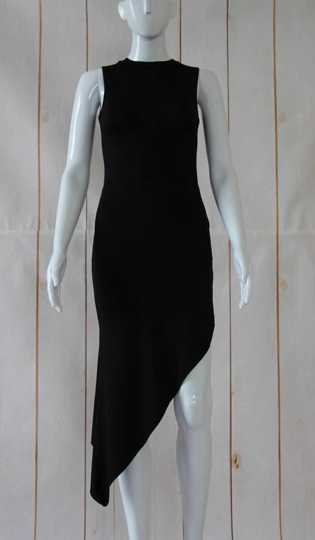 Sexy Vrouwen Mouwloze Bandage Bodycon Party Lange Maxi Jurk Asymmetrische vestidos de fiesta sukienki bodycon jurken robe femme