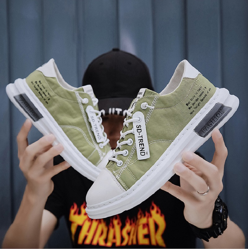 My-Love 2020 summer and autumn explosion men's shoes student casual shoes men's board shoes trend canvas shoes sports shoes men