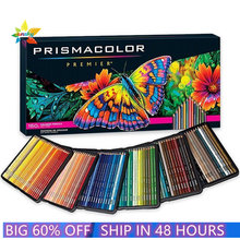 Eua 150 cor original prismacolor premier miúdo desenho lápis oleoso 4.0mm macio grande núcleo sanford prismacolor lápis artista